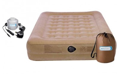 Visit Mattress Man to buy Aerobed Active Raised Camping Airbed with Pump at the best price we found