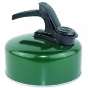 Yellowstone 1 Litre Aluminium Whistling Camping Kettle