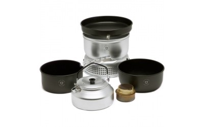 Visit Go Outdoors to buy TRANGIA 25 6 UL Non Stick Cooker and Kettle Set at the best price we found