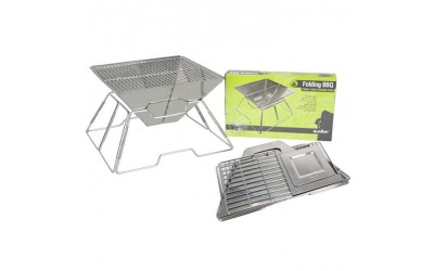 Visit Camping World to buy SUMMIT Foldable Stainless Steel BBQ at the best price we found