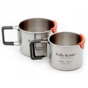 Kelly Kettle Camping Cup Set - 350 500ml